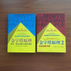 《金字塔原理》麦肯锡40年经典培训教材思考表达解决问题逻辑实用训练手册2本