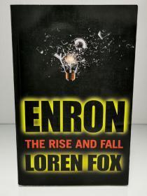 美国安然公司破产案:华尔街完美案例  Enron : The Rise and Fall by Loren Fox (投资与金融)英文原版书