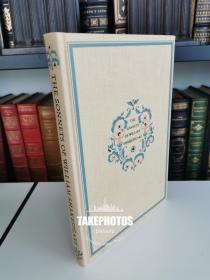 The Sonnets of William Shakespeare  《 莎士比亚十四行诗》 Heritage Press 1941年布面精装版 带有一枚藏书票