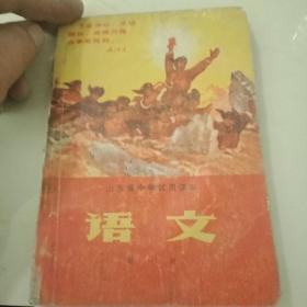 山东省中学试用课本语文