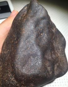 3696  少见强磁 新疆火焰山 铁陨石 陨铁 777克