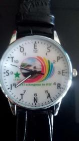 第67届国际铁路员工世界语会议纪念手表