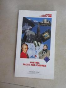 英文书:AUSTRIA · FACTS  AND  FIGURES   共212页   32开  详见图片