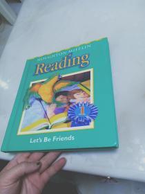 HOUGHTON MIFFLIN Reading   let's  be  friends  1【16开精装】