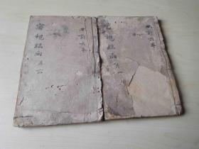 清刻本 眼科大全 审视瑶函【存2册】