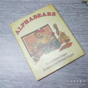 外文书籍 英语原版童书绘本 alphabears 硬精装