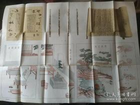 中国历史教学挂图 造纸术的发明一版一印
