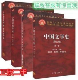 中国文学史 第三版 袁行霈 中国文学史全4卷 1234全套2014年