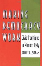 Making Democracy Work:Civic Traditions in Modern Italy