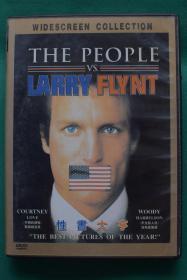 1996 美国传记电影《性书大亨》DVD【光盘测试过售出概不退换】