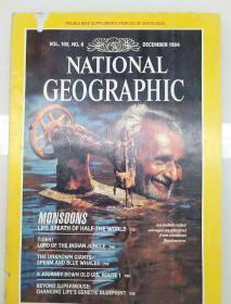 美国国家地理杂志1984年12月现货实拍图