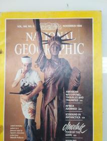 美国国家地理杂志1984年11月现货 实拍图