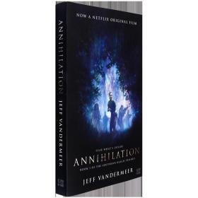 英文原版科幻小说Annihilation 遗落的南境三部曲第一部 湮灭