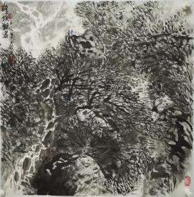 终身保真名家字画,李文龙,斗方 中国美协会员,北京市美协会会员,国韵文华书画院特聘画家。