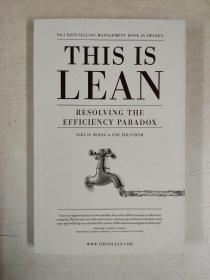 This Is Lean:Resolving The Efficiency Paradox(这是精益解决效率悖论)
