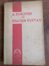 A SYNOPSIS OF ENGLISH SYNTAX