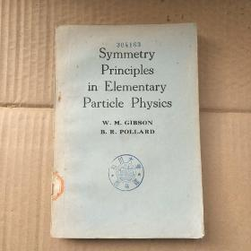 symmetry principles in elementary particle physics(P1183)