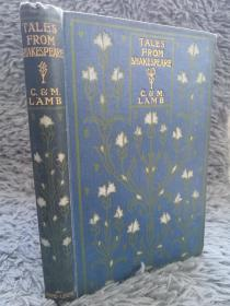 TALES FROM SHAKESPEARE BY CHARLES AND MARY LAMB   19.5X13.5CM