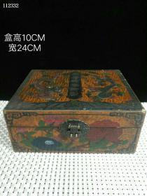 珍藏漆器盒装【银镶玉手串】一对大清乾隆御制皇室专用此件藏品工艺精湛古色古香103552