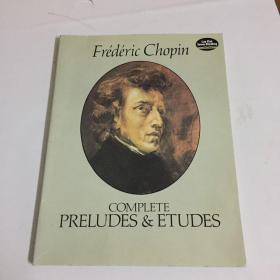 (肖邦前奏曲及练习曲钢琴独奏曲谱)Complete Preludes and Etudes for Solo Piano