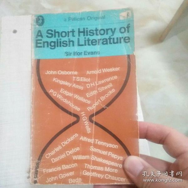 AShortHistoryofEnglishLiterature