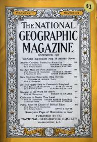 国家地理杂志1955年12月大西洋航海专题