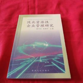 陕北资源性企业管理研究