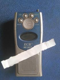 迷你手机形收音机 老物品收藏 民宿老物品摆设