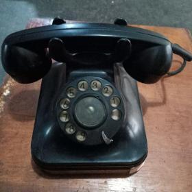 旧电话机手拨