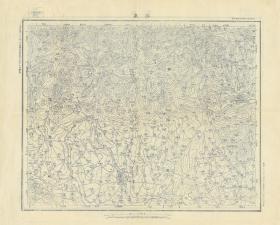 民国三十四年(1945年)《南阳县镇平县老地图》(原图复制)图题为《安皋》(南阳镇平老地图)国防部陆地测量总局测绘五万分之一军地形图,绘制十分详细。四至范围请看图右侧分幅表。村庄、道路、井、等高线等详细绘制。此图种非常稀少。南阳县、镇平县地理地名历史变迁史料。