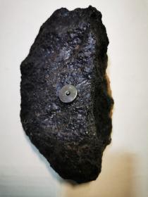 """陨石原石,顶级陨石,陨石,天降""""珍宝""""的陨石,难得一见,有""""绿陨石""""""""强磁性,1斤多,火烧痕迹,非常难得,可遇不可求的天降陨石值得永久收藏"""