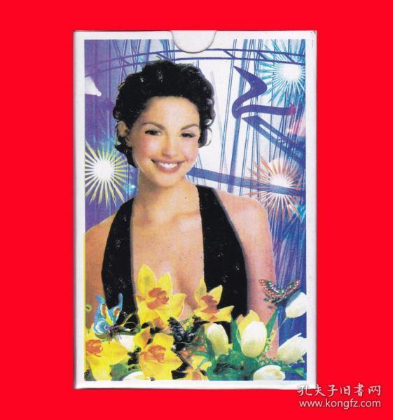 美女泳装扑克NO.5513