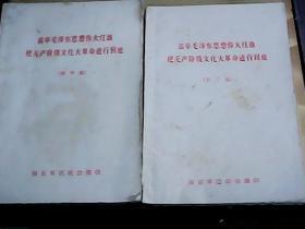高举毛泽东思想伟大红旗把无产阶级文化大革命进行到底 第三 四集*
