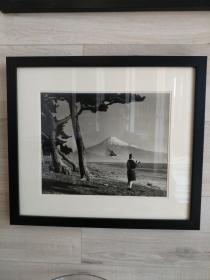 银盐老照片--富士山风光