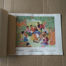 1976年年门画缩样~(第一批,第二批)二本