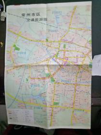常州旅游图(江苏之旅系列导游图之四)