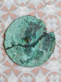 战国铜镜标本