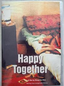 绝版 经典珍稀电影收藏鉴赏DVD 盒装高清1080P新装版 春光乍泄  主演:张国荣 梁朝伟 张震  导演:王家卫
