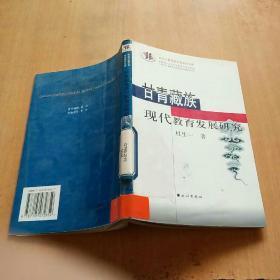 甘青藏族现代教育发展研究