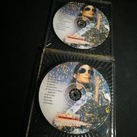 杰克逊吉隆坡演唱会 VCD(2碟装) 裸碟