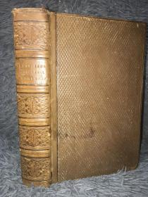 1808年LEMPRIERES  UNIVERSAL BIOGRAPHY 《莱姆普里埃的通俗传记 》全皮装帧  CRITICAL AND HISTORICAL OF THE LIFE AND CHARACTER LABORS AND ACTIONS OF EMINENT PERSONS老藏书票 22.2X14.5CM