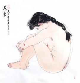 鬼手杨 花季 四尺斗方   可合影