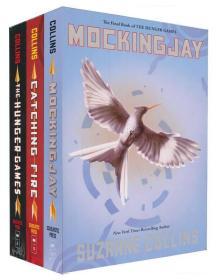 The Hunger Games Trilogy Box Set (Books 1-3)饥饿游戏,套装共三册
