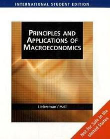 Principles and Applications of Macroeconomics AIS
