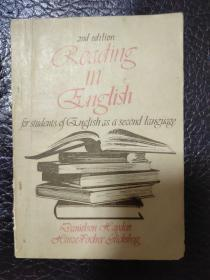 Reading in English for students of english as a second language