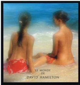 稀缺  《Le monde des David Hamilton》大量图录,1996年出版,