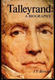 现货  Talleyrand: A biography 英文原版 夏尔·莫里斯·塔列朗 德塔列朗-佩里戈尔  塔列朗传