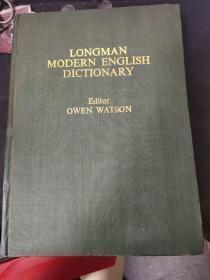 [英文原版影印]Longman Modern English Dictionary (精装)(朗曼现代英语词典)