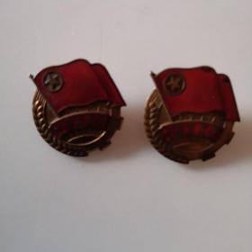 50年代红铜团徽(保真包老)