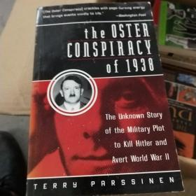 Oster Conspiracy of 1938 The